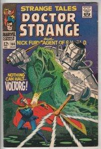 Strange Tales #166 (Mar-68) FN/VF Mid-High-Grade Nick Fury, Dr. Strange