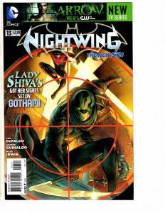 2 Nightwing DC New 52 Comic Books # 13 14 1st Print NM Range Batman Robin LH3