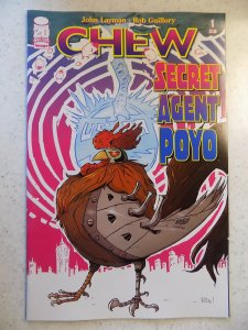 CHEW SECRET AGENT POLO # 1 IMAGE FIRST PRINT
