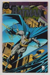 Batman #500 Die Cut Foil Cover (DC,1993) NM
