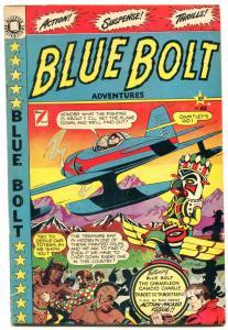 BLUE BOLT #103-TARGET-CHAMELEON-CANDID CHARLIE-LB COLE FN-