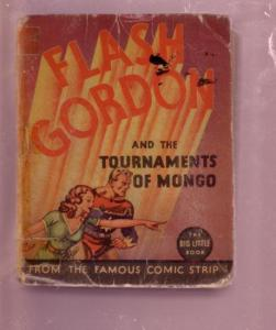 FLASH GORDON TOURNAMENTS OF MONGO RAYMOND #1171 - 1935 FR/G