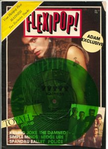 Flexipop! #19 1982-British Rock 'n' Roll magazine with record attached to cov...