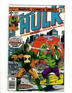 Lot of 8 Incredible Hulk Marvel Comics #204 205 206 207 208 209 210 211 GK18