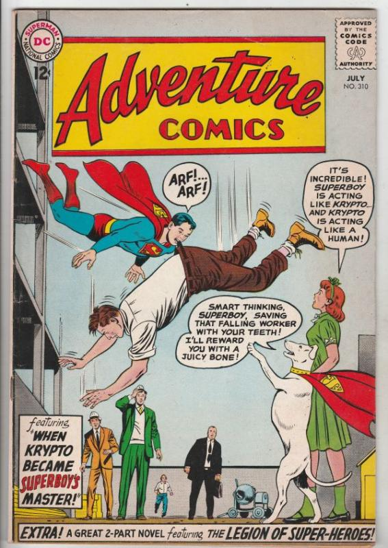 Adventure Comics #310 (Jul-63) VF High-Grade Legion of Super-Heroes