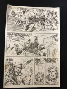 Marvel Comics Rawhide Kid Production Art --MARVEL COMICS VG