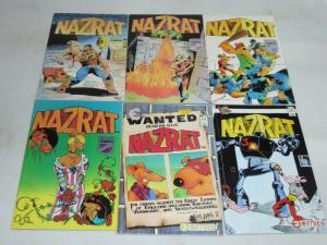 NAZRAT (1986 IM/ET) 1-6 FUNNY RATS BY JERRY FRAZEE