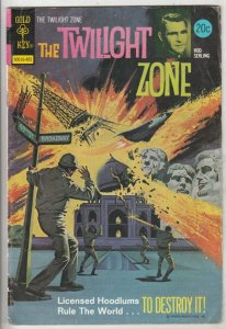 Twilight Zone, The #56 (May-74) VG/FN Mid-Grade Rod Serling