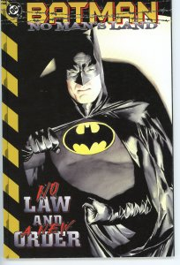Batman No Man's Land - No Law & A New Order Alex Ross Cover - Hard to Find