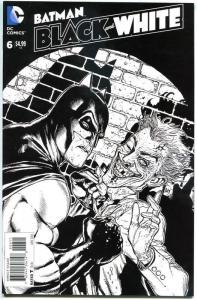 BATMAN BLACK and WHITE #6, VF/NM, Adam Hughes, Dave Johnson, Joker, 2014