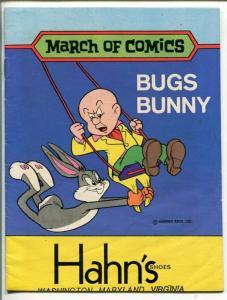 MARCH OF COMICS #415 1975-K.K. PUBS-BUGS BUNNY-ELMER FUDD-vg/fn