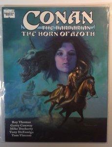 Conan The Barbarian: The Horn Of Azoth SC 1990 Marvel Graphic Novel 1st Thomas