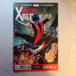 Amazing X-Men 1 Very Fine+ Cover by Ed McGuinness