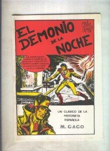 Maestros de la Historieta numero 13: El demonio de la noche