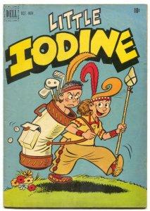 Little Iodine #8 1951- Dell Golden Age- Golf cover FN