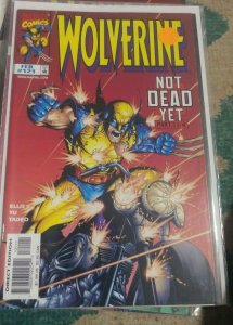 WOLVERINE # 121 1998 marve NOT DEAD YET PT 3  WHITE GOAST X MEN  AVENGER MUTANT