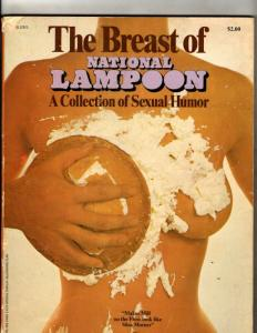 The Breast Of National Lampoon Collection Of Humor Magazine Book 1972 JF30
