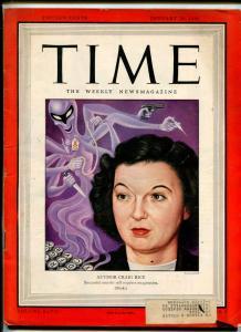 TIME-01/28/1946-CRAIG RICE-PULP DETECTIVE FICTION-HARD BOILED-UNIQUE-RARE-vg