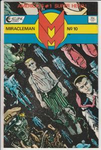 Miracleman #10 (Dec-86) NM/MT Super-High-Grade Miracle Man