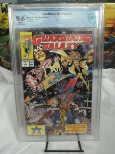 Guardians of the Galaxy #1 (1990) - CBCS 9.8 - 1st Taserface / 1st Cameo Stark