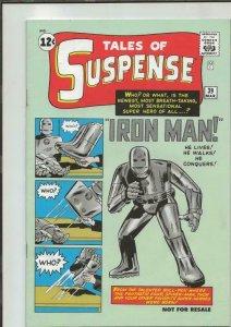 Tales of Suspense #39 Facsimile Edition 2007 Marvel Comics First Iron Man