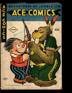 Ace Comics # 101 GD Golden Age Comic Book King Features Syndicate 1945 NE3