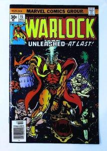 Warlock (1972 series) #15, VF (Actual scan)