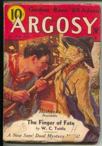 Argosy-11/8/1934-Munsey-Semi Duel mystery sci-fi story-Hashknife story-Erle S...