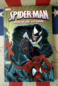 Amazing Spider-Man: Birth of Venom VF+ 2007 1st SYMBIOTE TPB Todd McFarlane