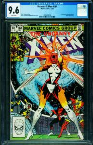 X-MEN #164 CGC 9.6 1982-BINARY-CAROL DANVERS 2006680006