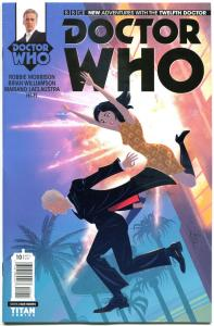 DOCTOR WHO #10 A, NM, 12th, Tardis, 2014, Titan, 1st, more DW in store, Sci-fi
