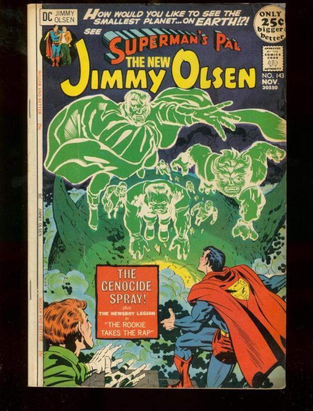 SUPERMAN'S PAL JIMMY OLSEN #143 DC COMICS JACK KIRBY VG/FN