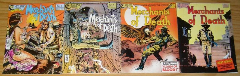 Merchants of Death #1-4 VF/NM complete series - alex toth - dan brereton 2 3 set