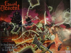 ETERNAL DESCENT Promo Poster, 18 x 25, 2011, IDW, Unused more in our store 327