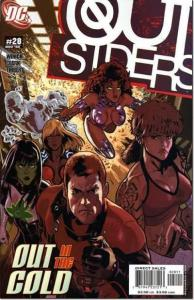 Outsiders (2003 series) #28, NM (Stock photo)