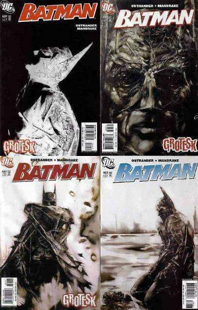 BATMAN 659-662  GROTESK complete 4-part story!