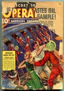 Operator #5 Pulp March 1939- Invasion From the Sky P/F