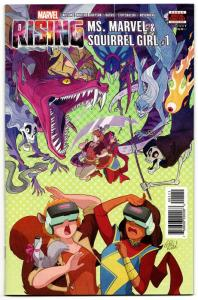 Marvel Rising Ms Marvel & Squirrel Girl #1 (2018) VF