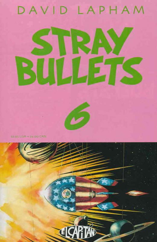 Stray Bullets #6 VF/NM; El Capitan | combined shipping available - details insid