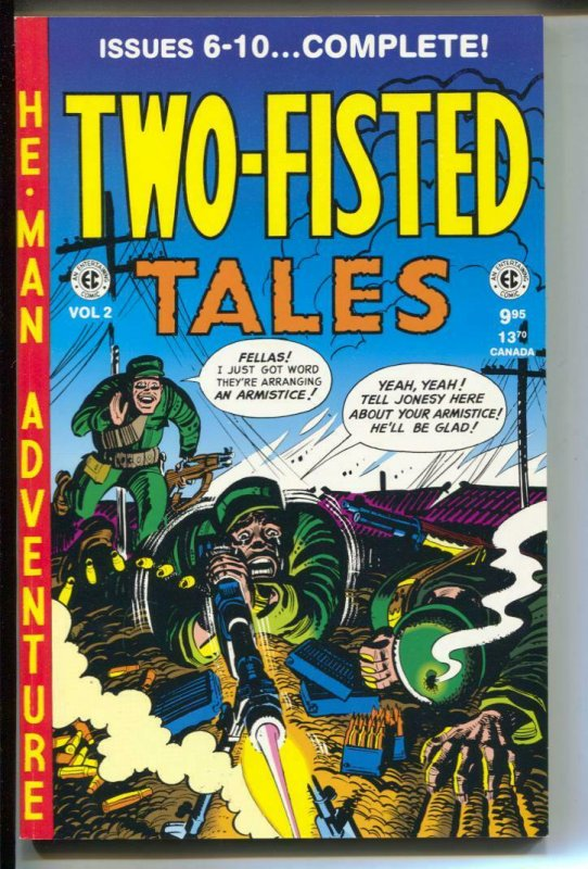 Two-Fisted Tales Annual-#2-Issues 6-10-TPB- trade