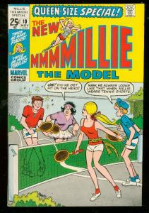MILLE THE MODEL SPECIAL #10 1971-MARVEL COMICS-FASHIONS VF/NM