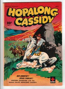 Hopalong Cassidy #7 (May-47) FN+ Mid-High-Grade Hopalong Cassidy