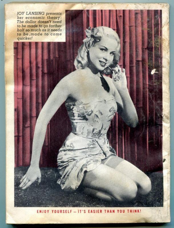 Joker Magazine August 1953- Basil Wolverton- Powerhouse Pepper -Wenzel- Ward