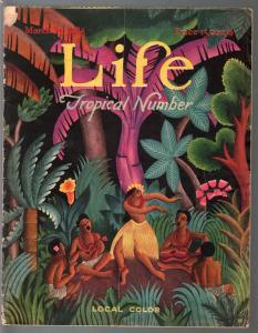 Life 3/25/1926-platinum age cartoonists-hula cover-Norman Lynd-GB Inwood-VG-