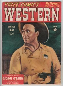 Prize Comics Western #79 (Jan-50) VG/FN Mid-Grade