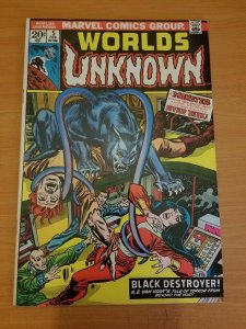 Worlds Unknown #5 ~ VERY FINE - NEAR MINT NM ~ (1974, Marvel Comics)