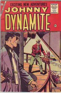 Johnny Dynamite #12 (Oct-55) VF+ High-Grade Johnny Dynamite