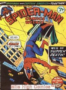 SPIDER-MAN WEEKLY  (#229-230) (UK MAG) (1973 Series) #87 Very Good