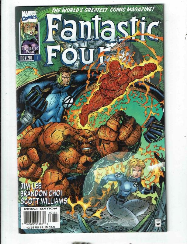 Lot Of 12 Fantastic Four Marvel Comic Books # 1 2 3 4 5 6 7 8 10 11 12 13 JD4