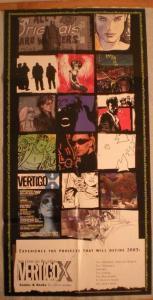 VERTIGO X Promo poster, John Constantine, 17x34, Unused, more Promos in store